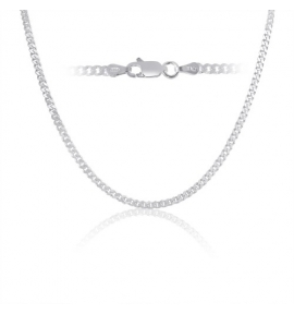 Sterling Silver Curb Chain 3mm