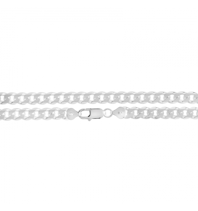 Sterling Silver Curb Chain 7mm