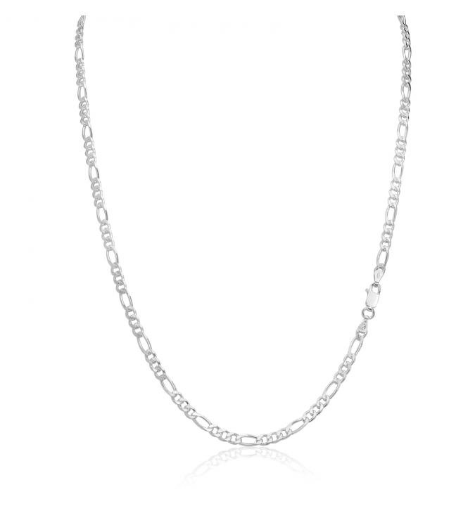 Sterling Silver Figaro Chain 3.5mm
