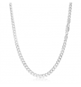 Sterling Silver Curb Chain 6.5mm