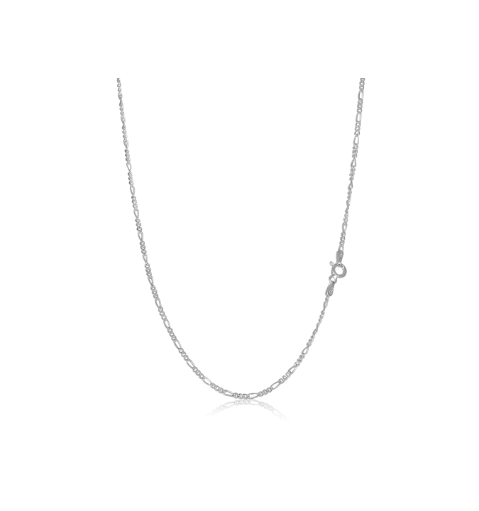 Sterling Silver Figaro Chain 2mm