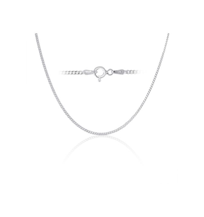 Sterling Silver Curb Chain 2mm