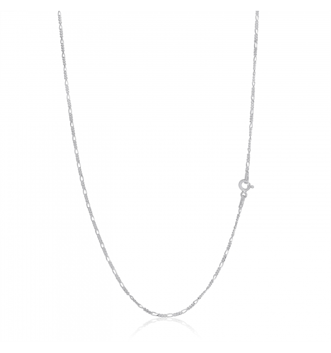 Sterling Silver Figaro Chain 1.7mm