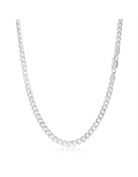 Sterling Silver Curb Chain 4.5mm