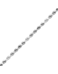 Sterling Silver Rope Chain 1.4mm