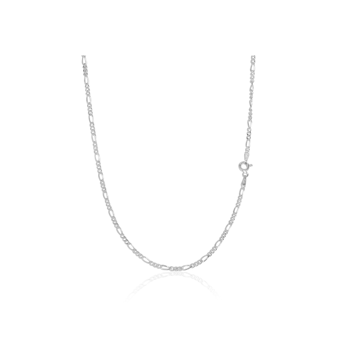 Sterling Silver Figaro Chain 2.2mm