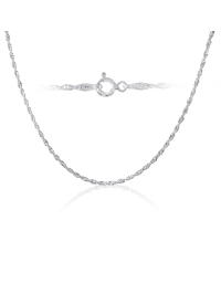 Sterling Silver Singapore Chain 2mm