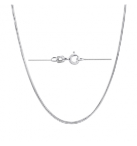 Sterling Silver Snake Chain 0.9mm