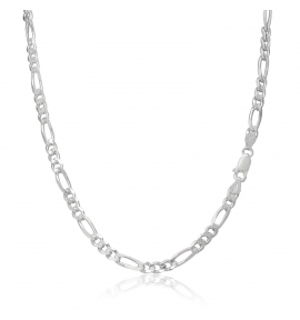 Sterling Silver Figaro Chain 4.5mm