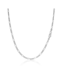 Sterling Silver Figaro Chain 3mm