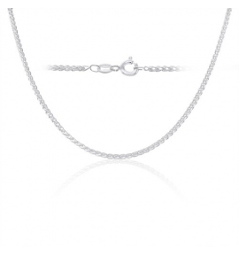 Sterling Silver Wheat Chain 1.9mm