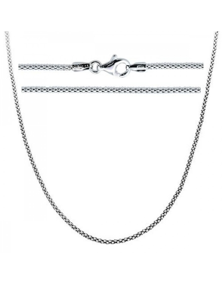 Sterling Silver Popcorn Chain 2mm